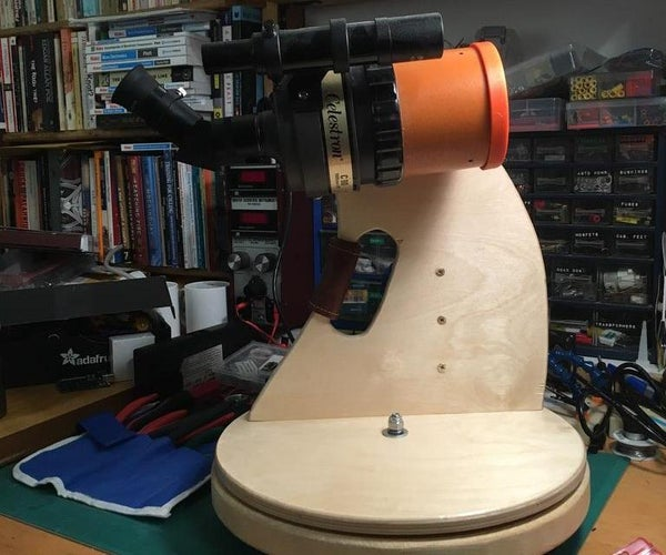 Upgrade Your Small Telescope/Spotter to a Tabletop Dobsonian/Alt-Az Telescope