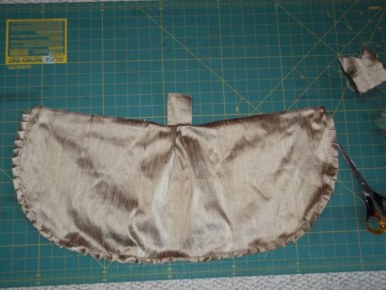 Dress Part 4: Over-gown Skirt