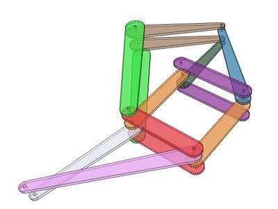 Assembling the Legs