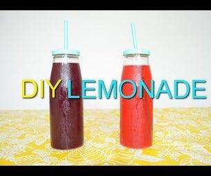 Healthy Sugar-Free Lemonade