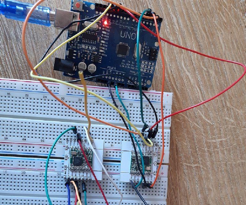 LORA Peer to Peer Communication With Arduino