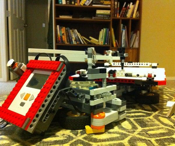 Build a Robotic Lego Multigraph