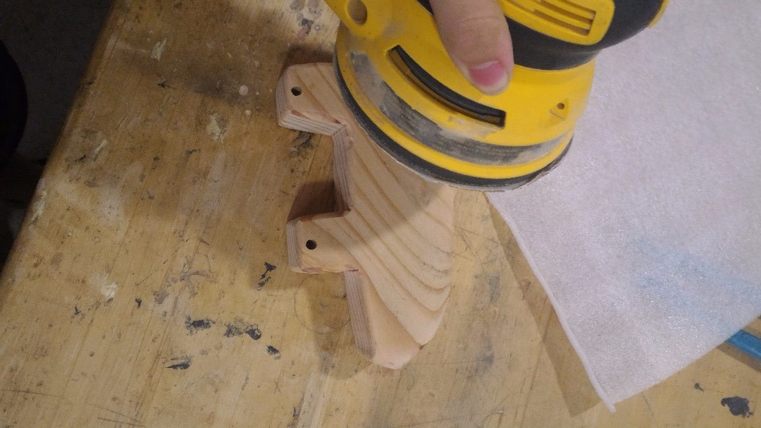Sanding and Smoothing the Toy