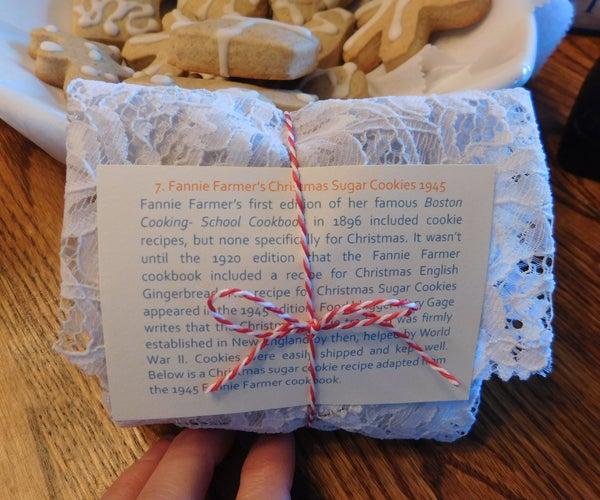 Fanny Farmer's Christmas Sugar Cookies, 1945