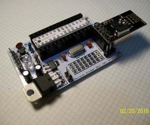 NRF24L01+ ATmega328P-PU Radio Sensor