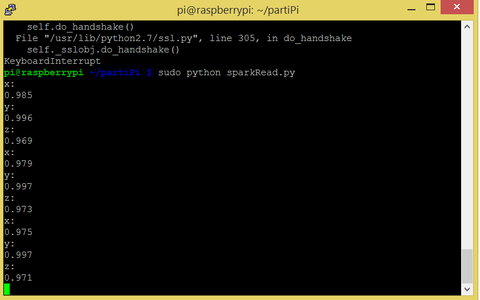 Working With the Pi and Python