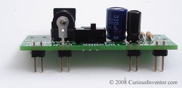 Clinch Leads to Hold Parts in Place While Soldering