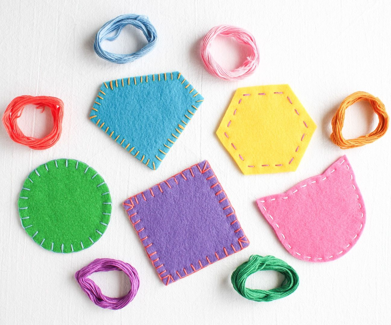 Felt Coasters: Introduction and Materials