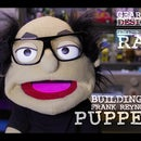 Making a Hand and Rod Puppet of Frank Reynolds.