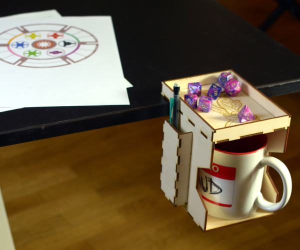 Cup Holder for Card(board) Gamers