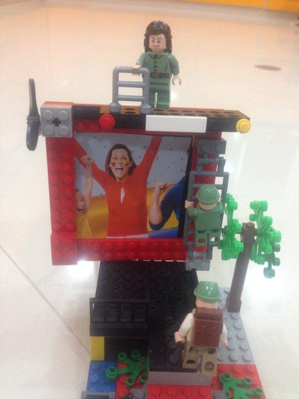 Portaretrato Lego