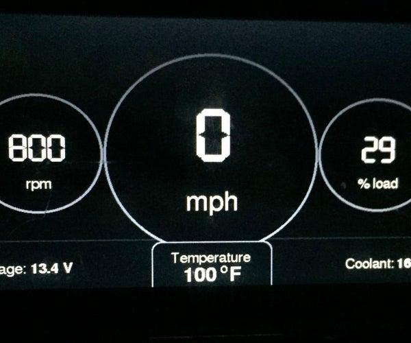 Arduino Car Display