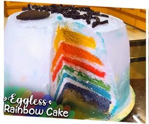 无蛋彩虹蛋糕