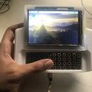 MutantC -  an Easy to Build Raspberry Pi Handheld/UMPC