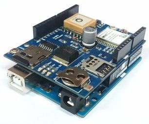 Sistema GPS Con Arduino + M2M Shield