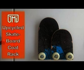 Skateboard Coat Rack