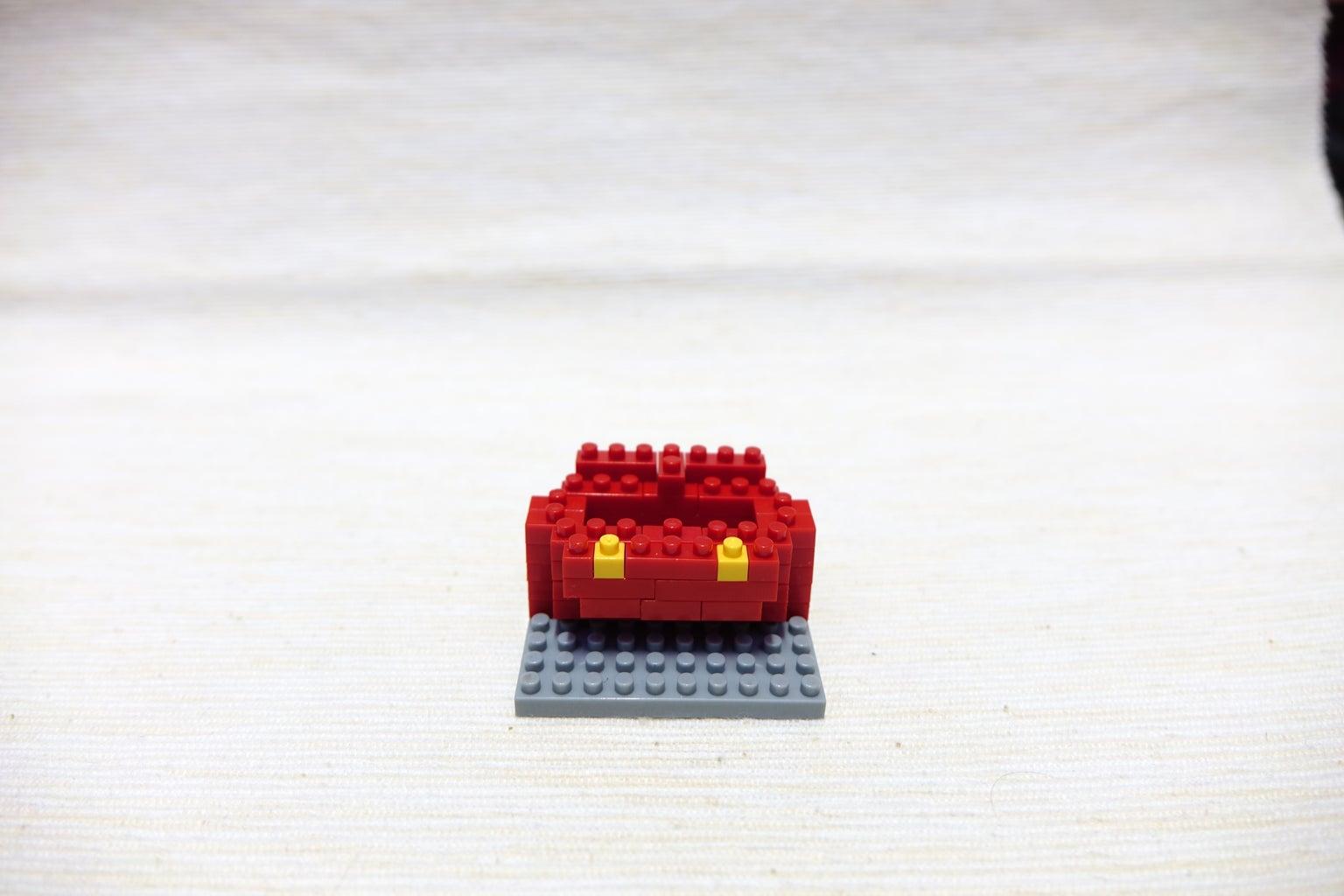 Red Block 1*3, 1*3