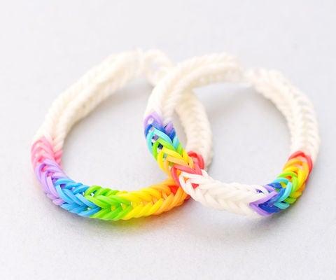 Easy Rainbow Loom Bracelets for Starters