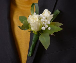 DIY With Flowers: Boutonnière