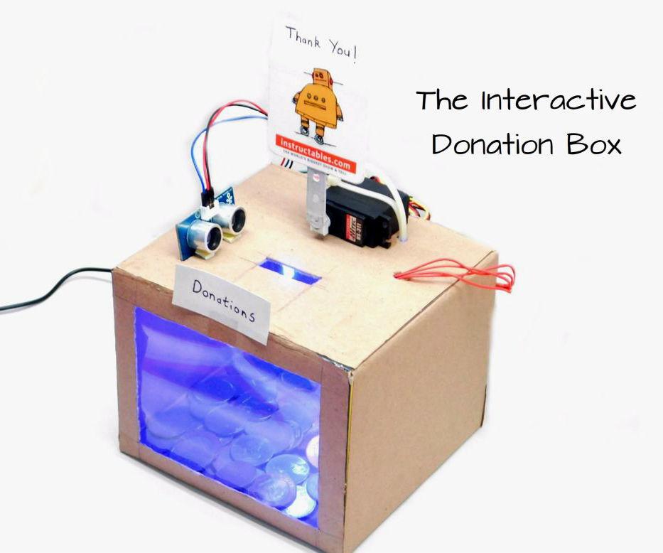 The Interactive Donation Box