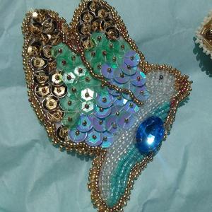 Bead Embroider a Bird Brooch!