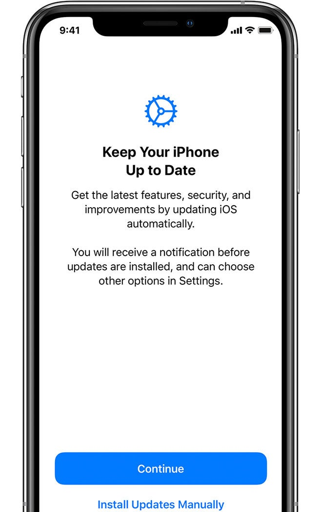 Turn on Automatic Updates on Your IPhone