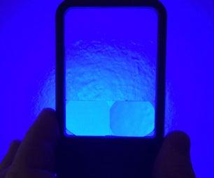 Pocket LED Woods Lamp Magnifier