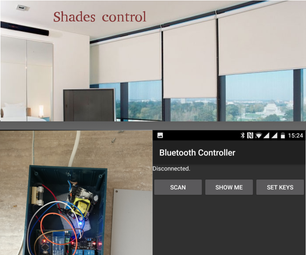 Automated Windows Shades