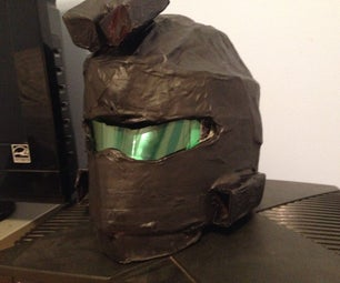 Cardboard Halo Helmet