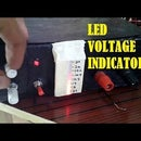 LED voltage range indicator