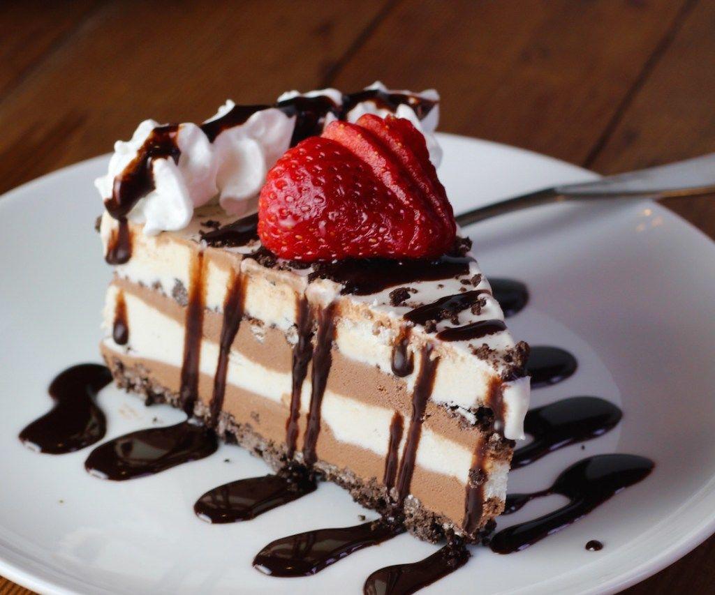 Super Simple Coconut Ice Cream Cake