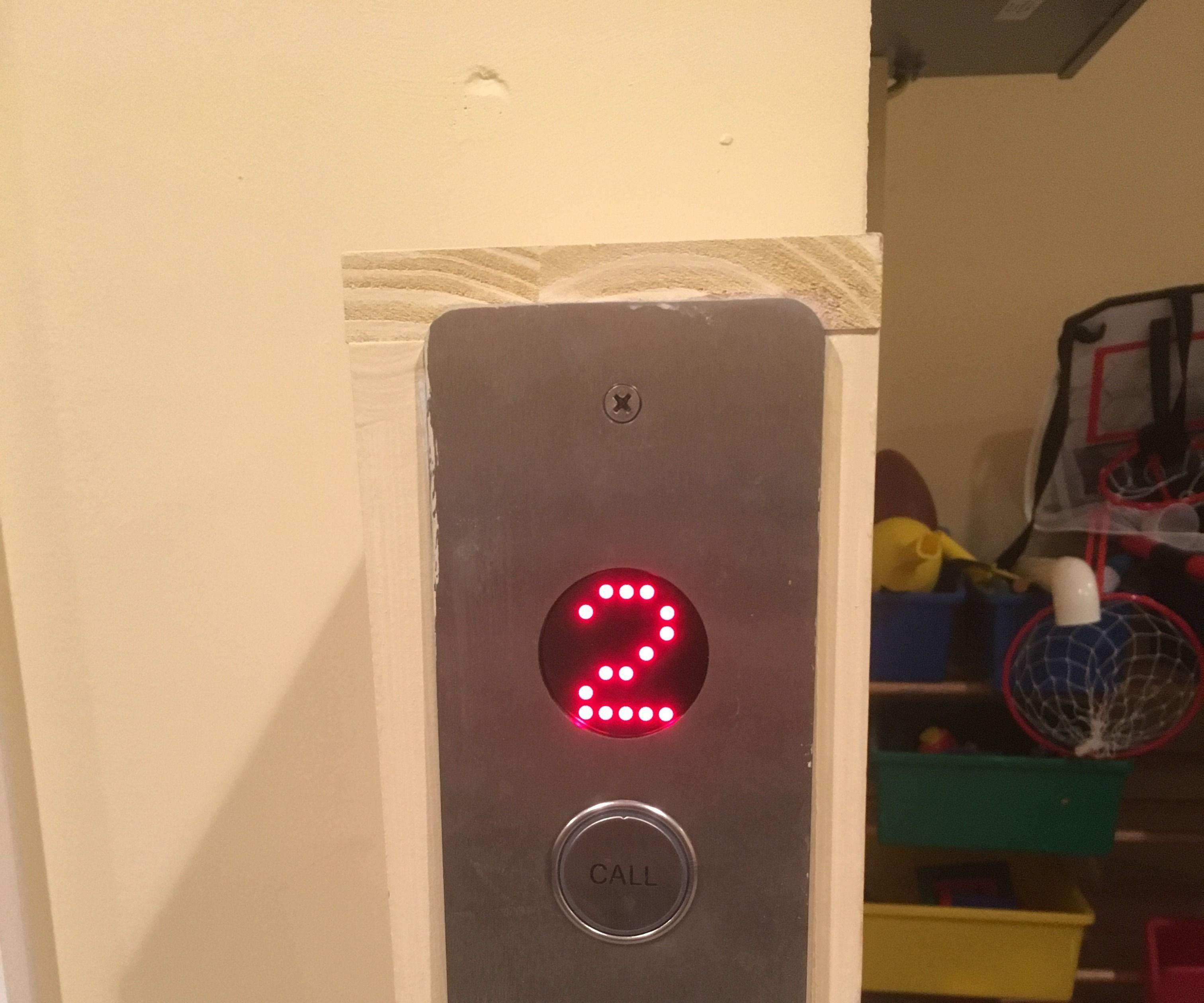 Alexa Enabled Elevator Button