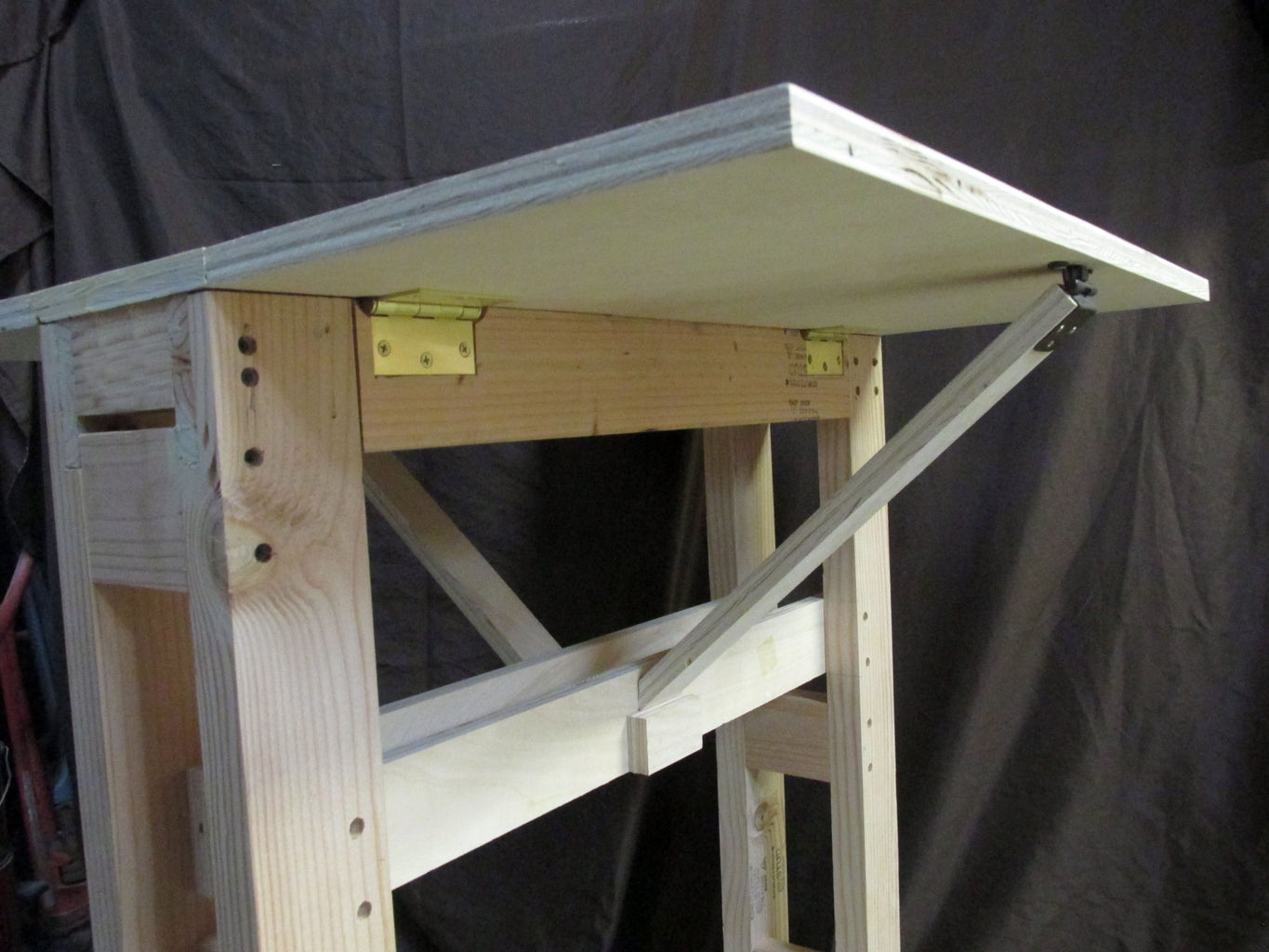 Adding Cross Braces and Table Leaf Supports