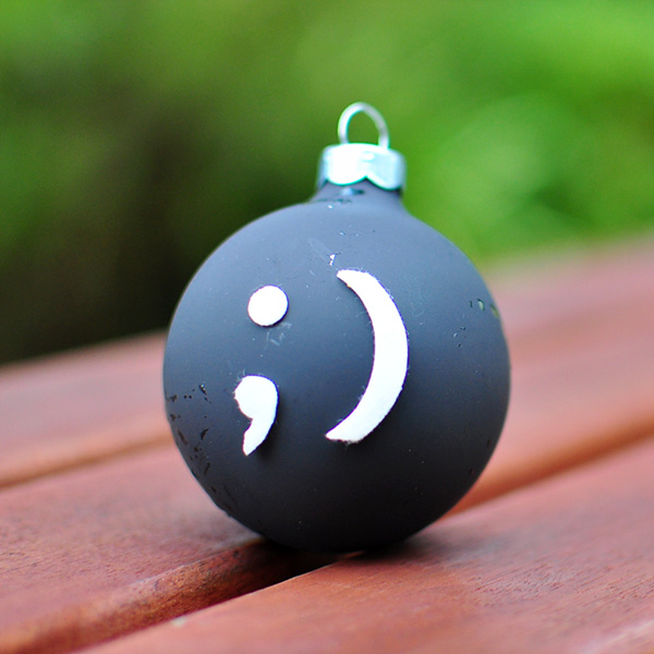 Emoticon Ornament ;)