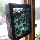 Coloured Marbles Frame