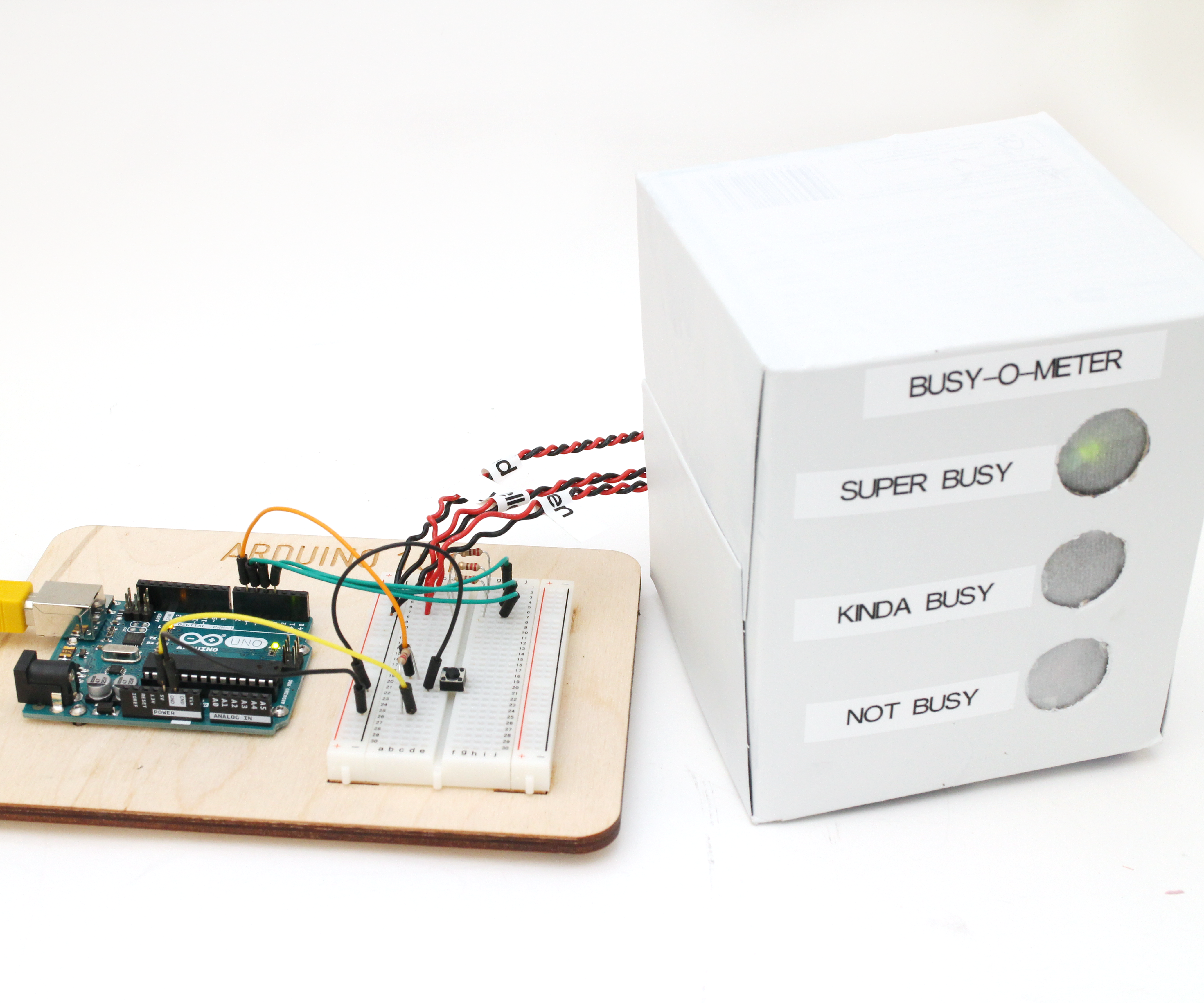 Arduino Busy-o-Meter