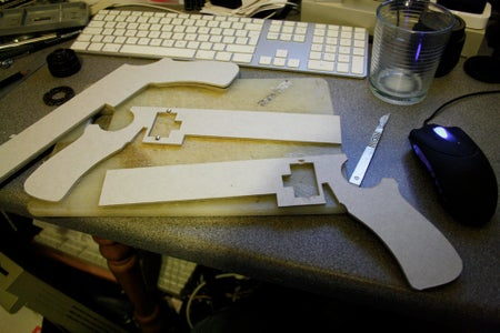 Cutting Out the Base.