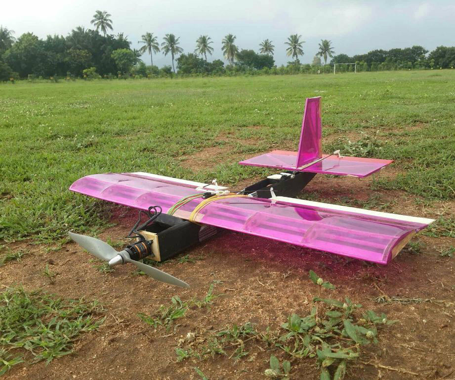 High LIft Capacity Payload Carrying RC Plane