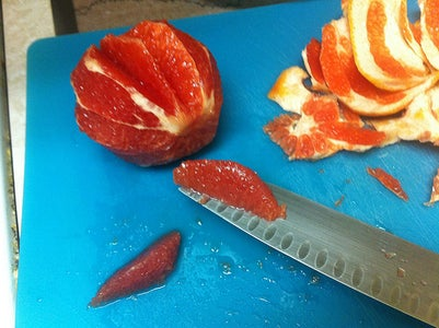 Prepare the Grapefruit Mousse