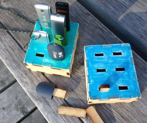 USB Flash Drive Lost and Found Box