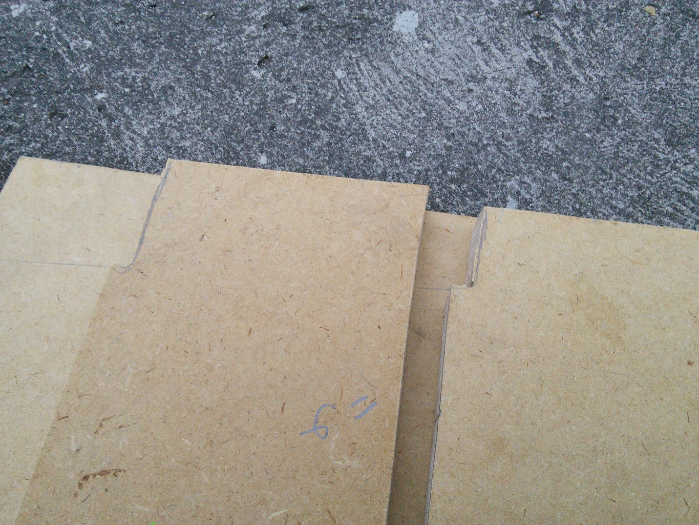 Cutting the Wood Panels