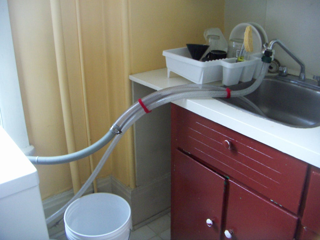 Connecting A Washing Machine To A Kitchen Sink 6 Steps Instructables