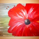 Abstract Flower Canvas, or Artwork for and by Non-artists