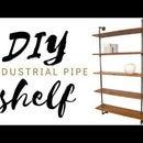 DIY Pipe Shelf