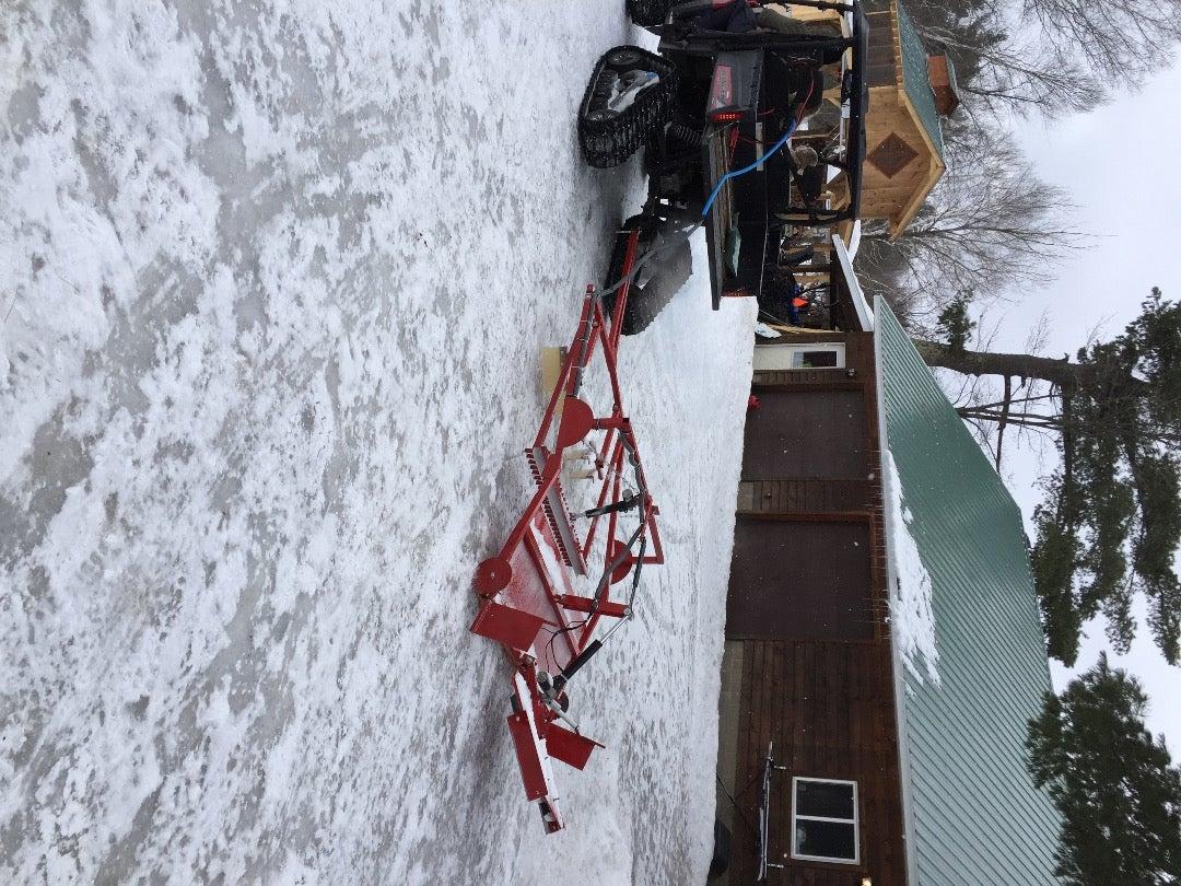 Traditional Cross Country Ski Groomer