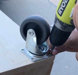Adding the Wheels