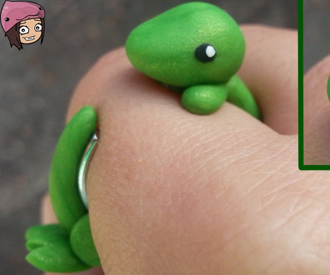 Cute Dinosaur Ring