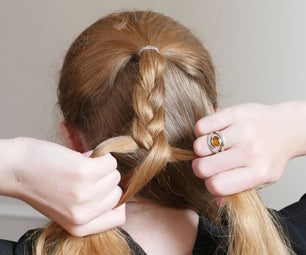 Braid Your Hair Without Looking