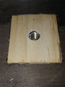 Drill Hole in to Solid Wood