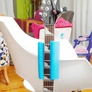 Guitar Neck Support Version 2 + Go Anywhere Guitar Lean Stand.